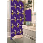 The Northwest Company Minnesota Vikings Shower Curtain