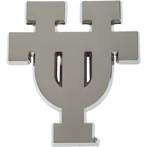 Stockdale University of Texas Chrome Freeform Auto Emblem