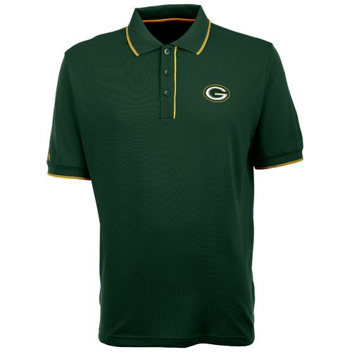 Antigua Men's Green Bay Packers Elite Polo Shirt - view number 1
