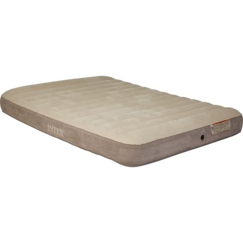 INTEX® Deluxe Dura-Beam Single-High Queen-Size Airbed