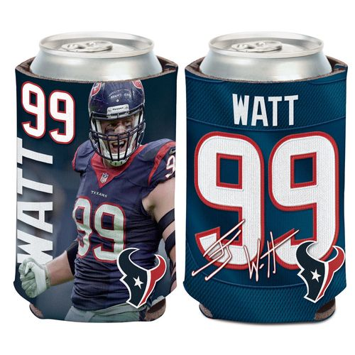 WinCraft Houston Texans J.J. Watt Can Cooler