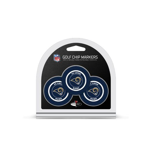 Team Golf St. Louis Rams Poker Chip and Golf Ball Marker Set