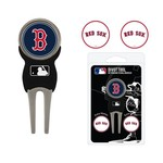 Team Golf Boston Red Sox Divot Tool and Ball Marker Set - view number 1