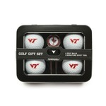 Team Golf Virginia Tech 4-Ball Tin Gift Set