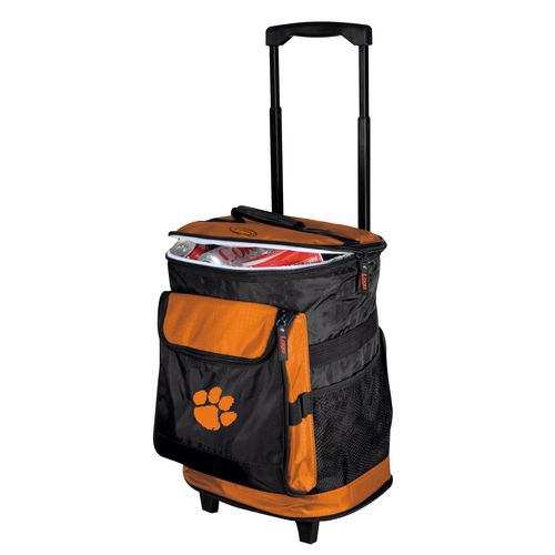 Logo™ Clemson University 48-Can Rolling Cooler - view number 1