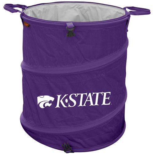 Logo™ Kansas State University Collapsible 3-in-1 Cooler/Hamper/Wastebasket
