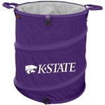 Logo™ Kansas State University Collapsible 3-in-1 Cooler/Hamper/Wastebasket - view number 1