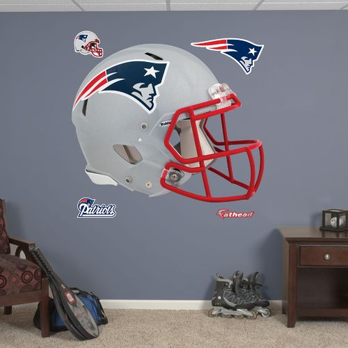 Fathead New England Patriots Real Big Helmet Decal