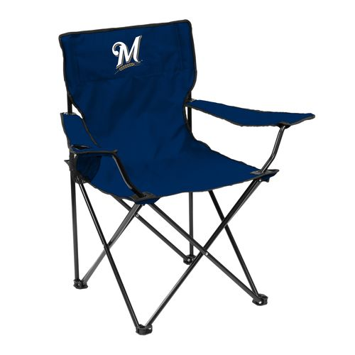 Logo™ Milwaukee Brewers Quad Chair