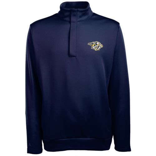 Antigua Men's Nashville Predators Victor 1/2 Zip Pullover
