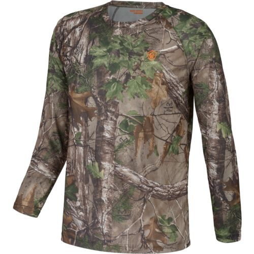 Game Winner Men's Eagle Pass Camo Long Sleeve Shirt