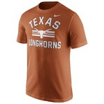 Nike™ Men's University of Texas Short Sleeve Cotton T-shirt