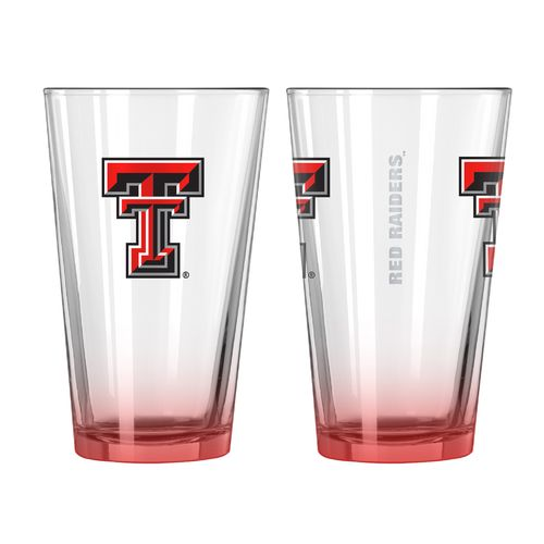 Boelter Brands Texas Tech University Elite 16 oz. Pint Glasses 2-Pack