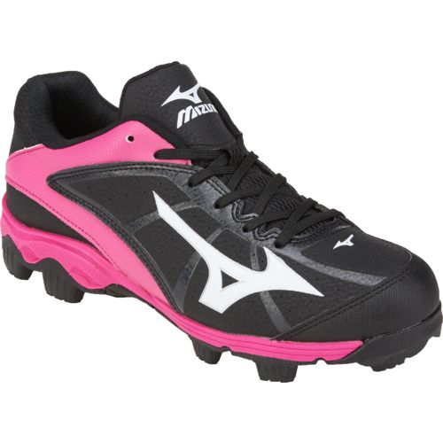 Mizuno Girls' Finch Franchise 6 Advanced 9-Spike Molded Softball Cleats - view number 2