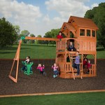 Backyard Discovery™ Liberty II Wooden Swing Set - view number 3