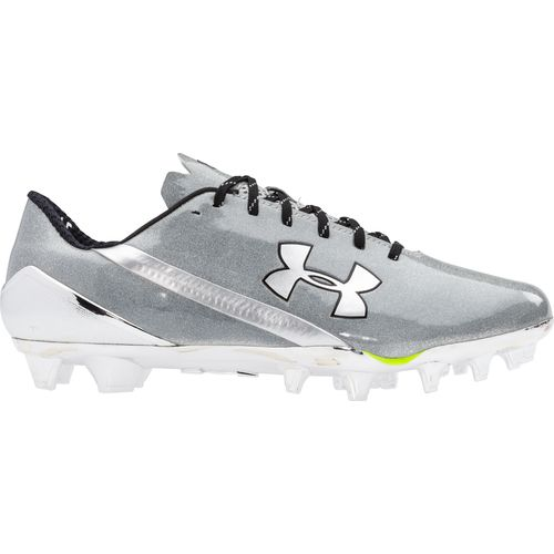 all white under armour football cleats