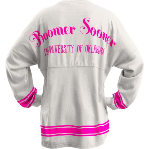 Three Squared Juniors' University of Oklahoma Semi Pro Sweeper Top