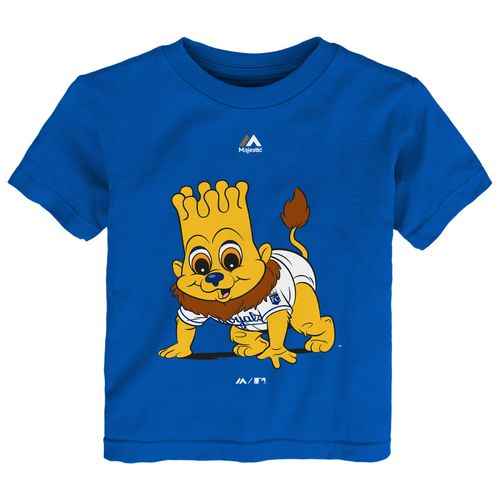 Majestic Toddlers' Kansas City Royals Baby Mascot T-shirt