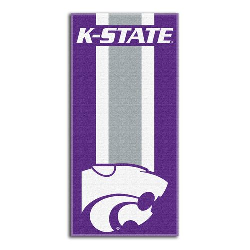 The Northwest Company Kansas State University Zone Read Beach Towel
