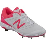 New Balance Women's 4040v1 Low-Cut Metal Fast-Pitch Softball Cleats - view number 2