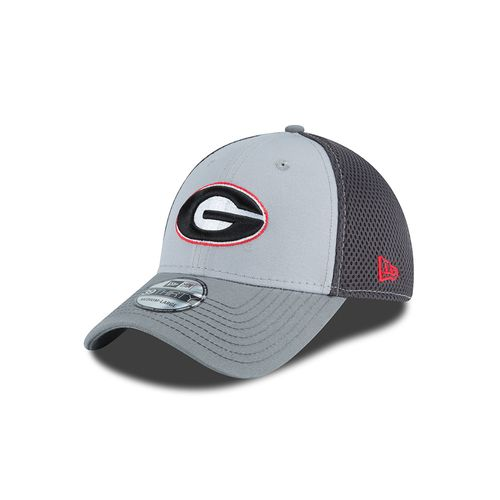 New Era Men's University of Georgia Grayed Out Neo 39THIRTY Cap