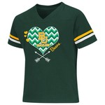 Colosseum Athletics Girls' Baylor University Football Fan T-shirt