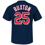 Majestic Men's Minnesota Twins Byron Buxton #25 T-shirt - view number 1