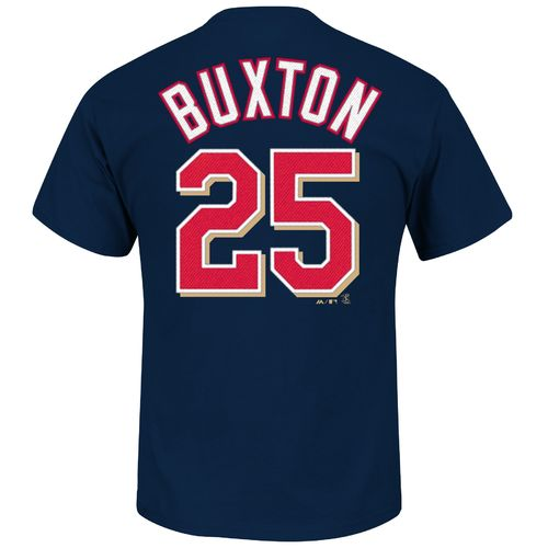 Majestic Men's Minnesota Twins Byron Buxton #25 T-shirt