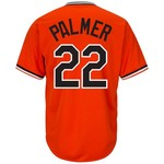 Majestic Men's Baltimore Orioles Jim Palmer #22 Cooperstown Cool Base 1965-66 Replica Jersey