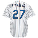 Majestic Men's New York Mets Jeurys Familia #27 Cool Base Replica Jersey