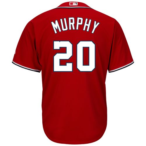 Majestic Men's Washington Nationals Daniel Murphy #20 Cool Base Replica Jersey - view number 1
