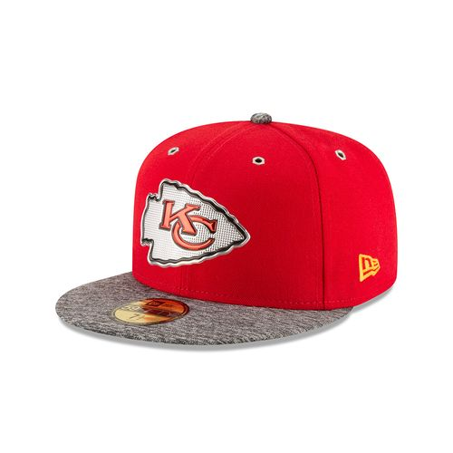 New Era Men's Kansas City Chiefs 59FIFTY 2016 Draft Cap