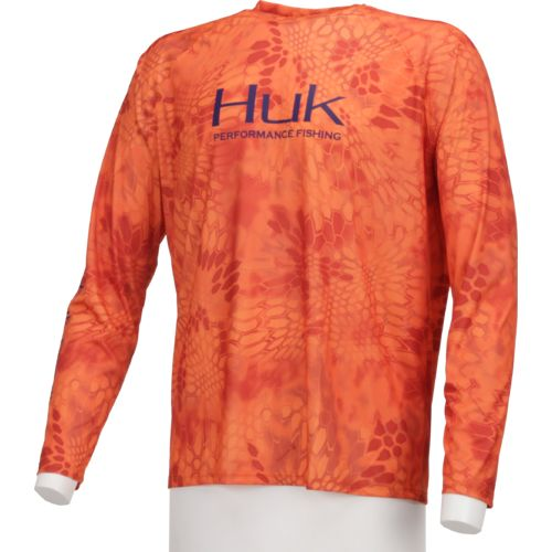 Huk Men's Ghost Long Sleeve Raglan T-shirt