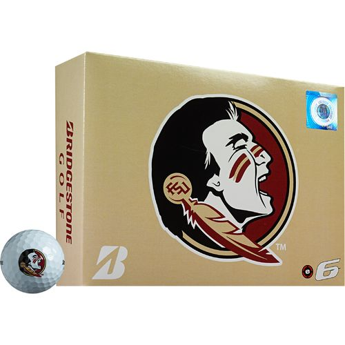 Bridgestone Golf Florida State University e6 Golf Balls 12-Pack