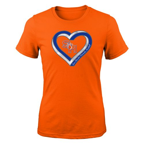 Gen2 Girls' Sam Houston State University Infinite Heart Fashion Fit T-shirt