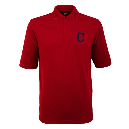 Antigua Men's Cleveland Indians Exceed Polo Shirt