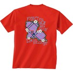 New World Graphics Women's Louisiana Tech University Bright Plaid T-shirt