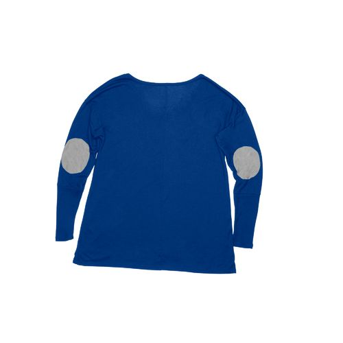 Blue 84 Women's McNeese State University Liquid Jersey Long Sleeve Patch T-shirt