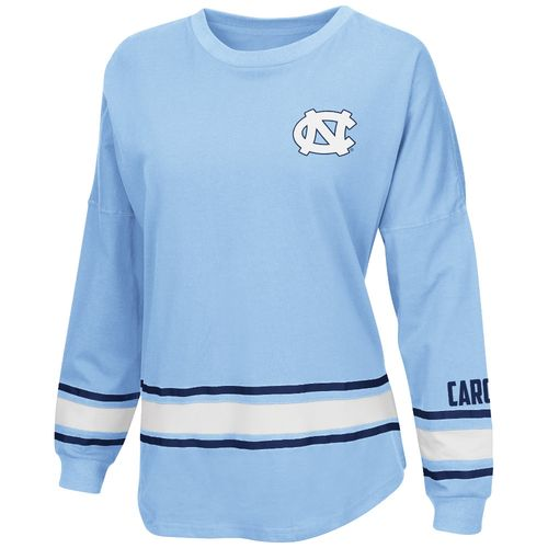 Display product reviews for Colosseum Athletics™ Women's University of North Carolina All Around Oversize Long Sleeve T