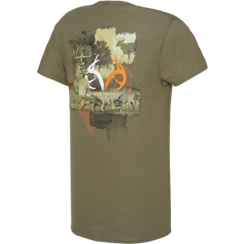 Realtree Men's Short Sleeve Graphic T-shirt