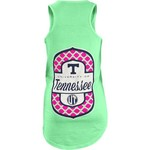 Three Squared Juniors' University of Tennessee Antoinette Tank Top