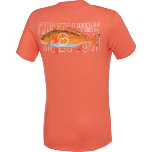 Display product reviews for Magellan Outdoors Men's Mosaic Redfish Pocket T-shirt