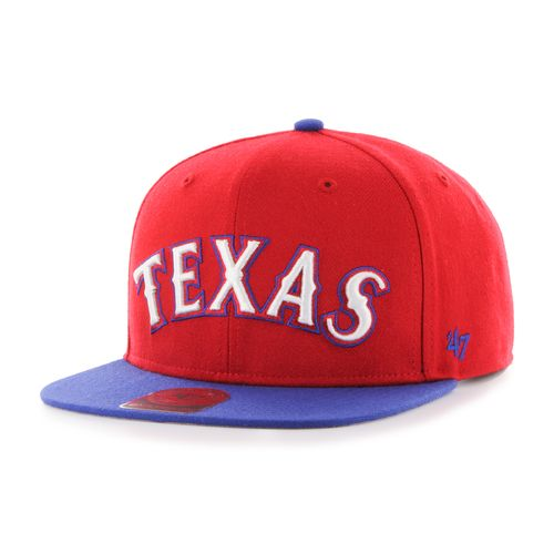 '47 Texas Rangers Script Side 2-Tone Captain Cap
