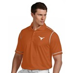 Antigua Men's University of Texas Striped Icon Polo Shirt