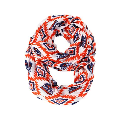 ZooZatz Women's University of Texas at San Antonio Southwest Infinity Scarf