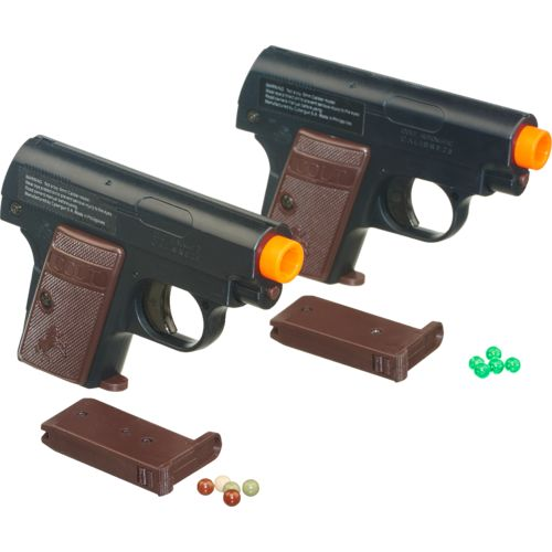 Soft Air USA Colt 25 6mm Caliber Spring Airsoft Pistols 2-Pack