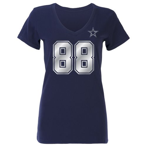 Dallas Cowboys Women's Dez Bryant #88 Shimmer T-shirt - view number 2