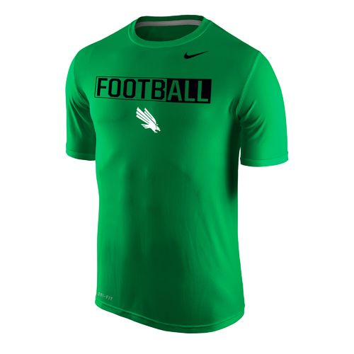 Nike™ Men's University of North Texas Dri-FIT Legend 2.0 Short Sleeve T-shirt
