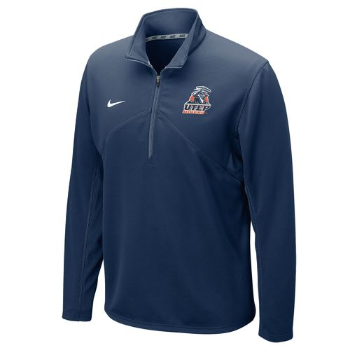Nike™ Men's University of Texas at El Paso Dri-FIT 1/4 Zip Training Pullover