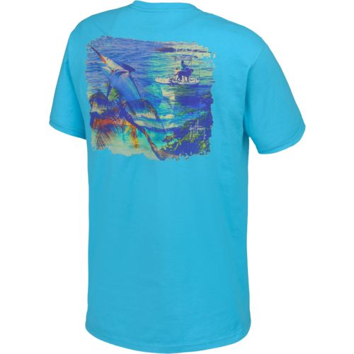 Guy Harvey Men's What It's All About Short Sleeve T-shirt